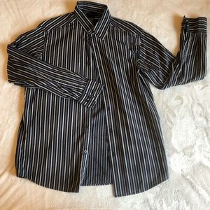 *531 Axcess Stripped Button Down